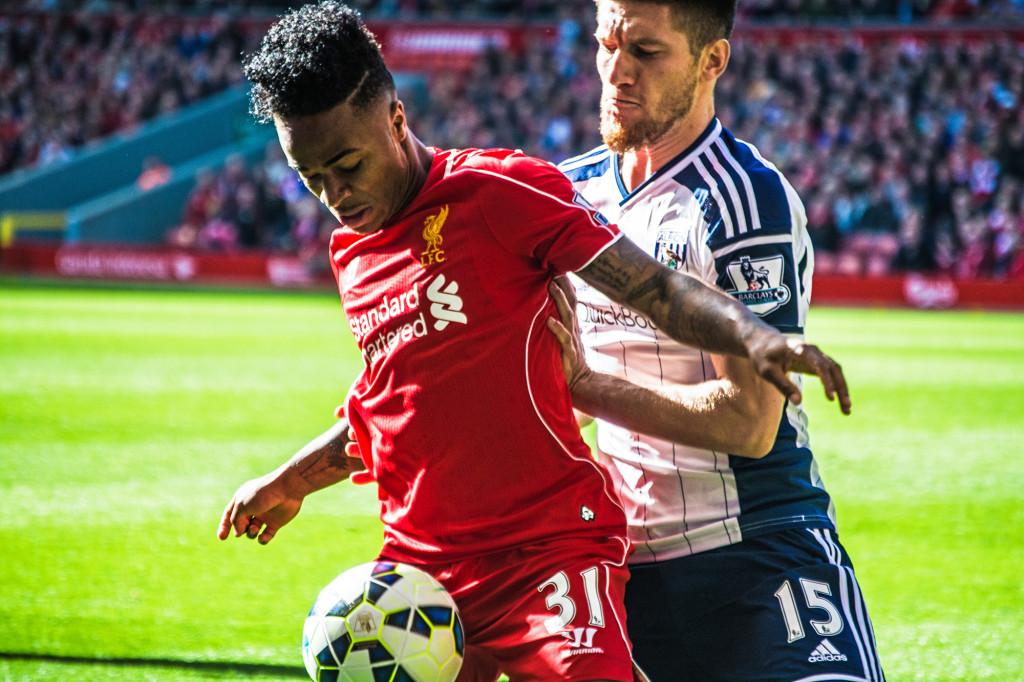 Liverpool vs West Bromwich 2014