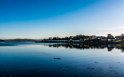 KILLYLEAGH & RIVER QUOILE & INCH ABBEY, CO DOWN