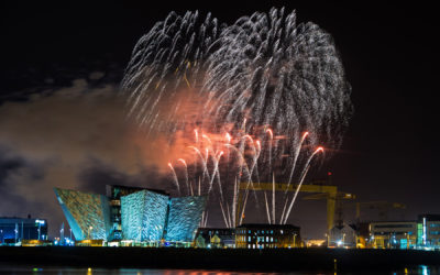 Halloween 2014 Belfast, firework display